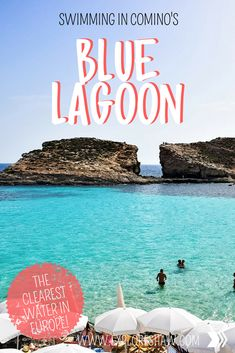 The Blue Lagoon on Comino might just be the most beautiful beach on both Malta and Gozo. Here's everything you need to know for your visit. Malta Travel Guide, Italy Travel Tips, Europe Travel Guide, Travel Guides, Travel Destinations, Malta Beaches, Road Trip Europe, Sailing Trips, Travel Advice