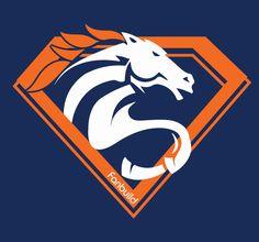Super Bronco Denver Broncos shirt