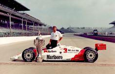 The Complete History of Indianapolis 500 Winners - Rick Mears Indy Car Racing, Indy Cars, Racing Team, Indianapolis Motor Speedway, Indianapolis Indiana, Indy 500 Winner, Cars Series, Car And Driver, Vintage Race Car