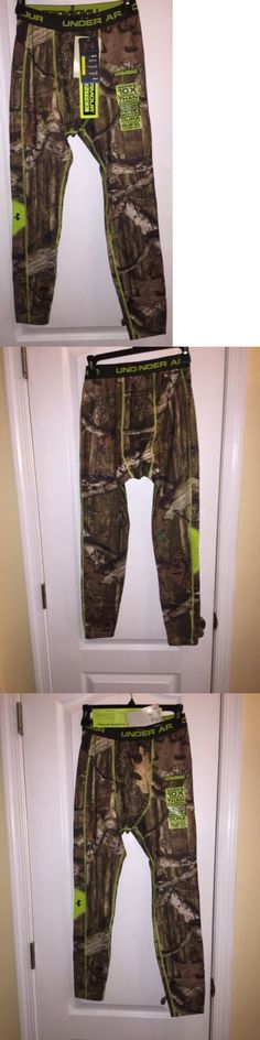 Base Layers 177867: Nwt Under Armour Mossy Oak Camouflage Hunt Thermal Compression Mens Camo Pants L -> BUY IT NOW ONLY: $59.87 on eBay!