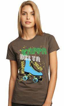 Kappa Delta - retro skate tee