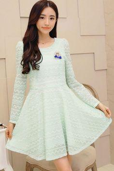 Lovable Lace Mini Dress