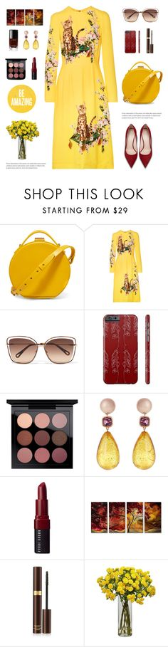 """""""FL02  (01/10/2017)"""" by aneetaalex ❤ liked on Polyvore featuring Nico Giani, Dolce&Gabbana, Chloé, Brigid Blanco, Bobbi Brown Cosmetics, All My Walls, Tom Ford and Nearly Natural"""
