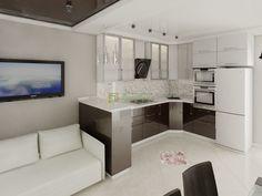 Картинки по запросу кухня с диваном