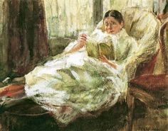 Reading and Art: Max Liebermann