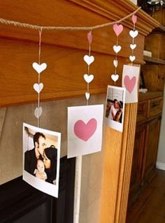 valentines mantel decorating ideas | valentines day mantel decor ideas 1 Beautiful Valentine's Day Mantel ...