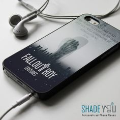 http://www.myicover.nl . Fall Out Boy Centuries Lyrics iPhone 4/4S, iPhone 5/5S/5C, iPhone 6 Case, Samsung Galaxy S4/S5 Cases - Shadeyou Phone Cases iphone 4 case