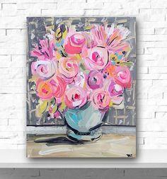 Resultado de imagem para flores pintadas em acrilico pinterest