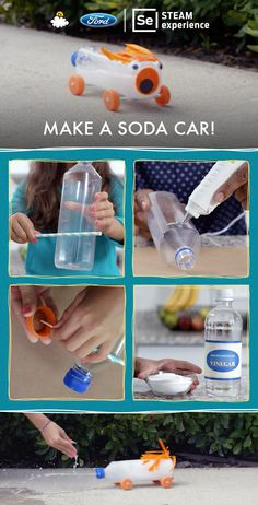 "LittleThings is teaming up with Ford to present ""Make A Soda Car!"""