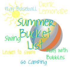 Summer Bucket List: Creating a Summer Bucket List ~ Creative Family Fun
