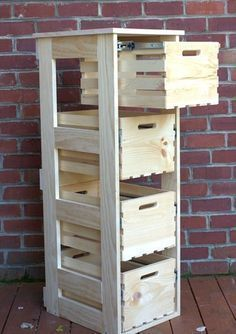 diy crate cabinet with sliding drawers, diy, storage ideas, woodworking projects diy beginner diy pallet diy projects diy rustic diy woodworking Wood Projects For Beginners, Diy Wood Projects, Home Projects, Diy Storage Projects, Craft Paper Storage, Diy Projects Plans, Diy Projects To Sell, Easy Woodworking Projects, Woodworking Plans