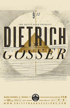 Shitty Barn Session No. 49 - Dietrich Gosser by EFG!, via Flickr