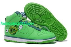 the best attitude c2f57 c3812 Find Vrouwen Nike Schoenen Wit Groen Dunk High Angry Birds TopDeals online  or in Jordanschoenen. Shop Top Brands and the latest styles Vrouwen Nike  Schoenen ...