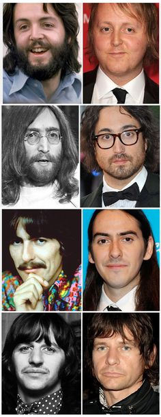 fathers and sons....Beatles and sons