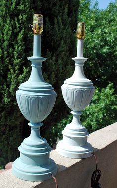 Great tips and products!   Lake and Garden: Lamp Redo: From Brass to Chalk Paint