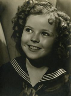 Shirley Temple, 1930s...... i always loved watching her movies every Sunday.  So loved her.