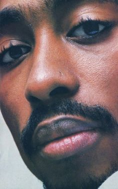TUPAC..soft eyes and lips