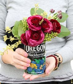 Happy Earth Day everyone! In honour of this special day I've rounded up 25 recycled tin can crafts and projects. I am amazed at all the incredible things one can do with a simple tin can! Take a peek at all these fun ideas! Chalkboard Paint Tin Can Pots   The Garden Glove Fruit Can...Read More »