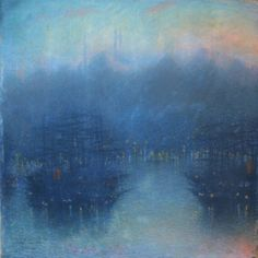 Constantinople (the Harbor, Evening), Lévy-Dhurmer, Lucien