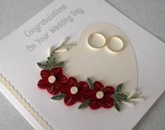 Items similar to anniversary card, silver wedding congratulations, quilling card, handmade on Etsy Wedding Cards Keepsake, Wedding Cards Handmade, Wedding Day Cards, Quilling Cards, Paper Quilling, Handmade Greetings, Greeting Cards Handmade, Congratulations On Your Wedding Day, Birthday Congratulations