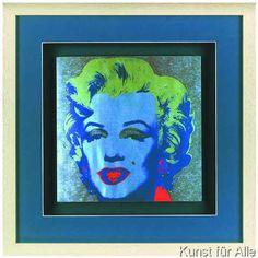 Andy Warhol - Marilyn Blau/Grau Andy Warhol Marilyn, Objects, Fine Art, Artist, Image, Painting, Teachers, Pintura, Kunst