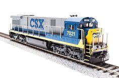 Broadway Limited #2446 GE C30-7, CSX #7004 Paragon2 Sound/DC/DCC