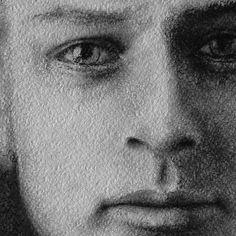 Начало нового портрета  _____________________________________    #графика #графическиематериалы #уголь #карандаш #рисуноккарандашом #графическийрисунок #мужчина #портрет #фрагмент #мужскойпортрет #лицомужчины #лицо #глаза #губы #портретпофото #рисуноклица #graphics #artist #pensil #pensildrawing #drawing #creativity #instaart #illustration #drawingpensil #scetches #face #portrait #art_works #scetch