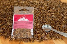 Entomo Farms - Eat bugs, eat insects, fire and brimstone roasted mealworms, buy roasted mealworms here http://entomofarms.com/product/fire-and-brimstone-mealworms/