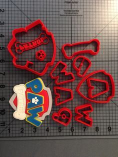 Paw Patrol Logo Cookie Cutter Set