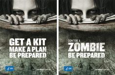 """If you prepare for the zombie apocalypse, you'll be prepared for all hazards,"" said CDC spokesman Dave Daigle."