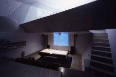 Small Concrete House in Shiga, Japan - Modern, Contemporary, Interior, House, Home Design on Home Design Home