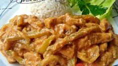Falešný stroganoff z kuřecího masa – tohle trumfne i originál. Turkey Recipes, Keto Recipes, Chicken Recipes, Cooking Recipes, Modern Food, Meat Chickens, Food 52, Food And Drink, Pork