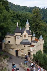 Gullivers kingdom, Matlock - I've taken numerous friend's children, accompanied lots of friends with their children and am now able to take my niece and nephew - a great day out for 4 years old + on a steep hillside!