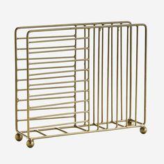 Suport servetele din fier - Antique Brass Moving Furniture, Cabinet Makers, Decoration, Antique Brass, Natural Wood, Magazine Rack, Napkins, Pottery, Storage