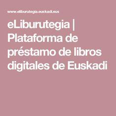 eLiburutegia   Plataforma de préstamo de libros digitales de Euskadi