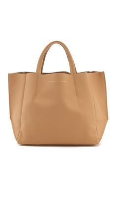 ONE by Ampersand as Apostrophe | Short Tote in tan