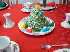 Pictures of yummy Christmas Cakes |