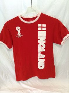 52e0ac229c7 Cool item  FIFA 2014 Ring ENGLAND World Cup Tee