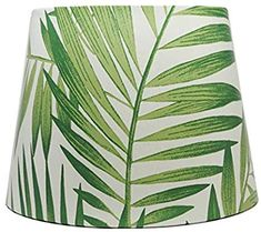 Palm Leaf Lamp Shade Light Shade Leaves Botanical Tropical Lampshade Bedroom Accessories Gifts