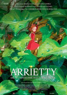 Arrietty y el mundo de los diminutos - Kari-gurashi no Arietti (2010) | Sentirse pequeño...
