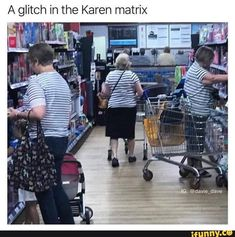 A glitch in the Karen matrix - iFunny :) Crazy Funny Memes, Really Funny Memes, Stupid Funny Memes, Funny Relatable Memes, Funny Stuff, Random Stuff, Karen Memes, Humor, Jokes