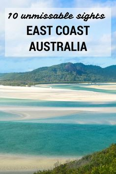 Warning: This post really will make you want to drop everything and jump on a plane to Australia. Here are 10 unmissable things to do on the East Coast of Australia. Brisbane, Perth, Tasmania Australia, Coast Australia, Visit Australia, Australia Trip, Australia Honeymoon, Australia Visa, Australia Living