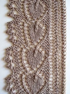 Lace Knitting: Borders Knitting daily, Knitting and Patterns