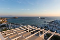 Golden hour in Mykonos!