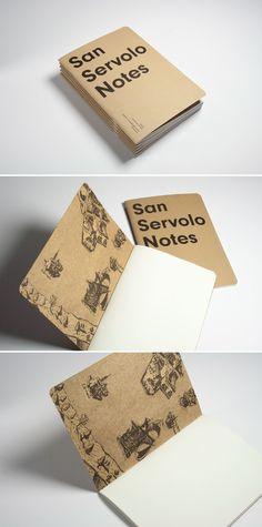 San Servolo Notes, notebook — hstudio