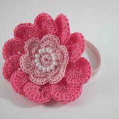 Make a Cute Crocheted Hair Band