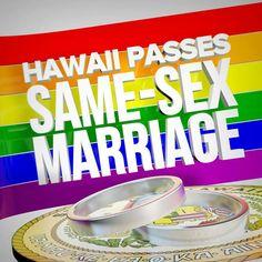 HAWAII - LOVE WINS !!! #lgbt