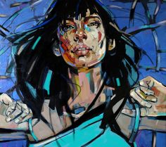 ArtAffair – Galerie für moderne Kunst   Anna Bocek: blue sky