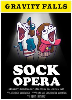 this is cool, this is just wow i mean i love sock opera and bipper and now this!?! i mean i am about to just go pop from all the love in my heart for gravity falls