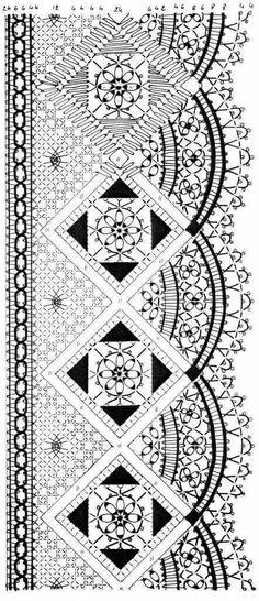 Insieme di disegni con foto e schemi(BOLILLOS) - - Веб-альбомы Picasa Bobbin Lace Patterns, Weaving Patterns, Embroidery Patterns, Knitting Patterns, Filet Crochet, Bobbin Lacemaking, Tatting Lace, Earring Tutorial, Needle Lace